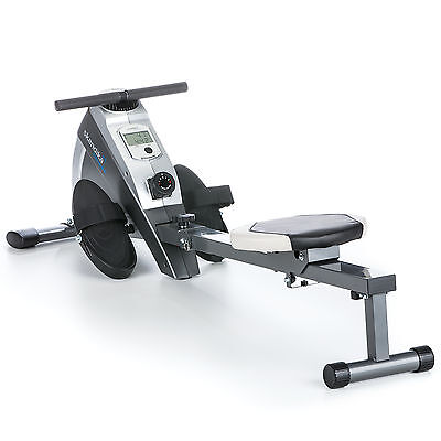 skandika Regatta Oxford Pro Rowing Machine Foldable LCD Magnetic Rower New