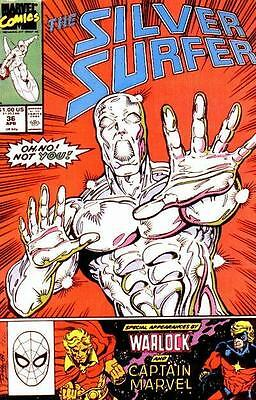 Silver Surfer Vol. 3 (1987-1998) #36
