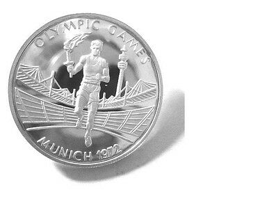 2002 Zambia Large Silver  Proof 500 Kwasha-Olympic Flame Runner