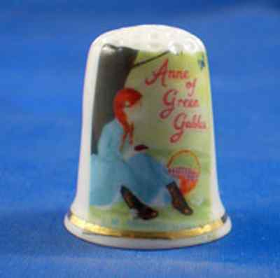 Birchcroft Porcelain China Thimble  Anne Of Green Gables -  Free Gift Box