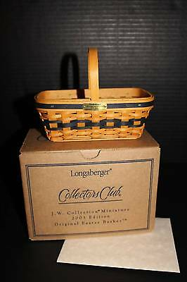 Longaberger - Collector Club JW Mini Easter Basket NEW