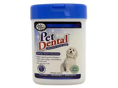 Four Paws Dental Wipes For Dogs 30Pk