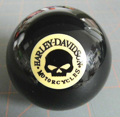 HARLEY DAVIDSON WILLIE G SKULL LOGO 8 BALL Great Gift For Any H-D Enthusiast