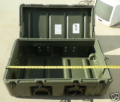 Hardigg Rugged Chest Footlocker Gasket Military Fire Resistant wheel bugout box
