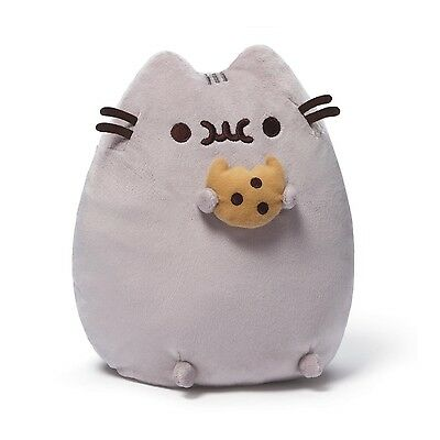 Gund 4048870 Pusheen the Grey Cat with Cookie