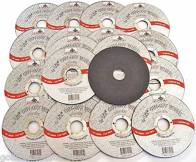 "20 Goliath Industrial 4-1/2"" Cut Off Wheels Cw41278 Discs Angle Grinder Grinding"