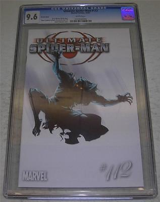ULTIMATE SPIDER-MAN #112 VARIANT COVER CGC 9.6 UNIVERSAL GRADE (Marvel 2007)