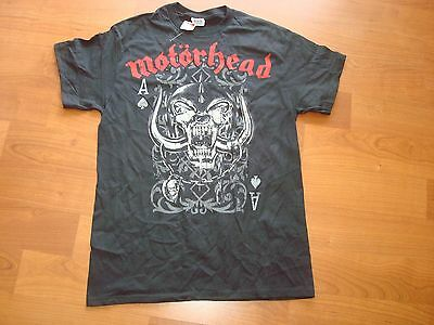 MOTORHEAD LEMMY ACE OF SPADES PLAYING  CARDS   LIC.2011 RARE/OOP shirt XL