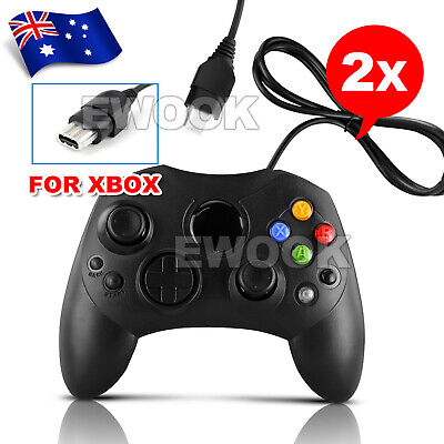 OZ New 2x Wired Pad Joypad Game Controller For Original XBOX Gamepad