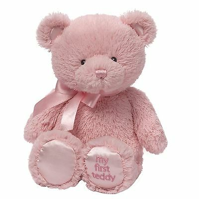 Gund 4043949 Baby My First Teddy Small Pink