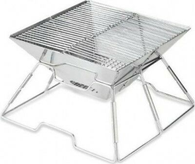 Quest Easy Use Portable Folding BBQ Charcoal Camping Picnic Festival Outdoors