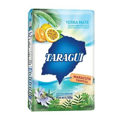 Y203 Yerba Mate Taragui Tropical With Passionfruit 500G Herbal Tea