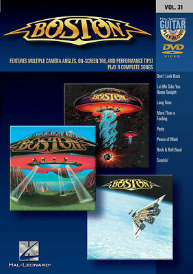 Boston Guitar Play Along 8 Songs! DVD NEW!