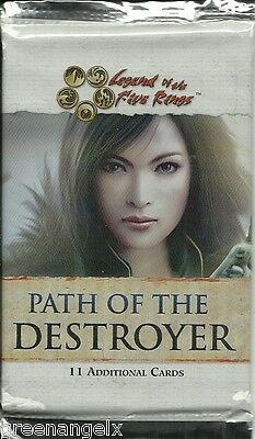 Five Rings (L5R) Ccg - Path Of The Destroyer Booster