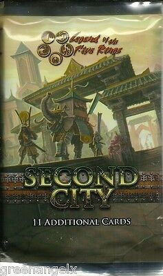 Five Rings (L5R) Ccg - Second City Booster