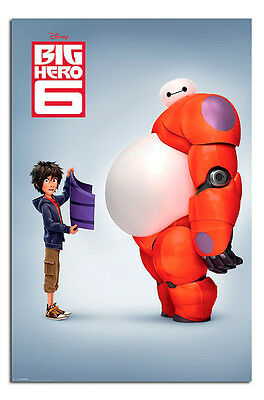 Big Hero 6 Movie Official Disney Teaser Poster - Maxi Size 36 x 24 Inches