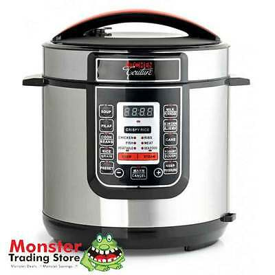 MULTIFUNCTION AUTOMATIC DIGITAL ELECTRIC PRESSURE COOKER 6L CAPACITY NON STICK
