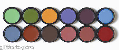 Graftobian Professional Theatrical Creme Makeup - 1/4oz Eye Shadow/Lining Shades
