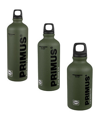 Primus Fuel Bottle FOREST GREEN (expedition camping stove liquid fuel) ALL SIZES