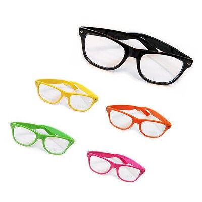 Clear Lens Wayfare Glasses Fancy Dress Geek Party Hen Stag Christmas Stocking