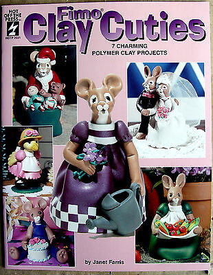 Fimo Clay Cuties OOP Collectible Book polymer crafts sculpting Mint Cond