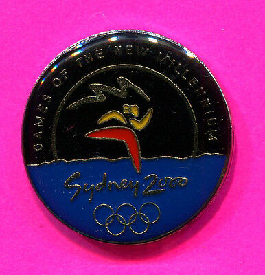 2000 OLYMPIC PIN SYDNEY GAMES OF THE NEW MILLENIUM BID PIN