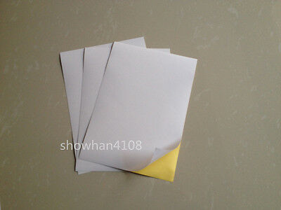 10 sheet a5 glossy self adhesive sticker paper printer paper white