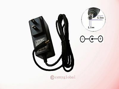 AC100V-240V Converter Adapter Power Supply 5.5mm x 2.1mm Series 6VDC 1.5A