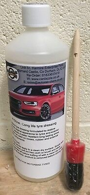 Auto Rae-Chem Hi-Shine - Long Life Tyre Dressing 1L With Free Brush