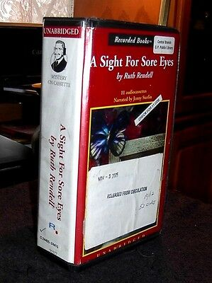 A Sight for Sore Eyes by Ruth Rendell / Sterlin Unabridged Audiobook Cassettes