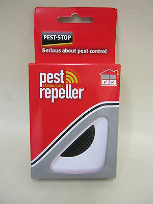 New Pest Stop Pest Repeller For Small Whole House Mouse And & Rat Plug In 232m