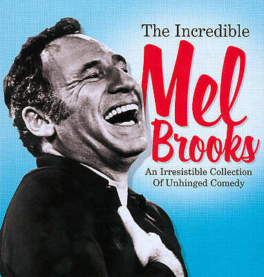 INCREDIBLE MEL BROOKS AN IRRESISTIBLE COLLECTION OF UNHINGED COMEDY New DVD + CD