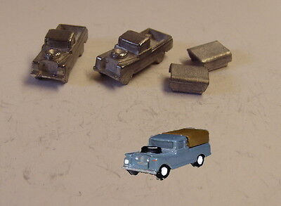 P&D Marsh N Gauge n Scale G16 Landrover Series II casting requires painting