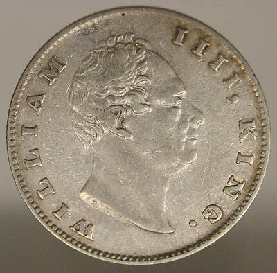East India Company (William Iv) 1 Rupee 1835 Silver #901