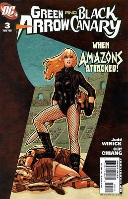 Green Arrow/Black Canary (2007-2010) #3