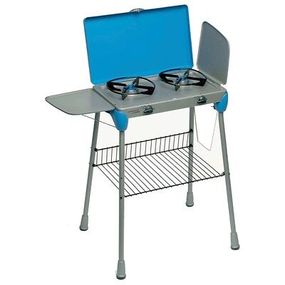 Camping Double Kitchen BBQ Extra With Carry Bag 202664