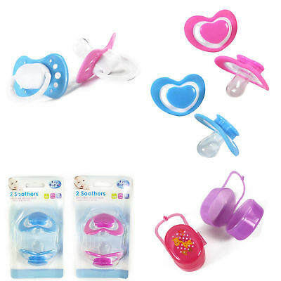First Steps Soothers and Dummies for Baby with Cherry & Orthodontic Teats