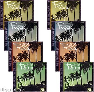 COMPLETE EASY ROCK Collection 8 CD NEW Various Artists 100 Classic Hits 70s 80s