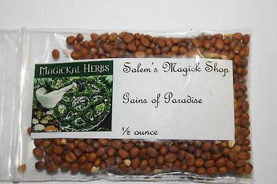 Grains of Paradise LOVE, MONEY, WISHES - wicca, witch