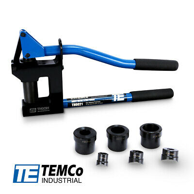 TEMCo Industrial TH0021 Manual Lever Sheet Metal Stud Punch 5 YEAR Warranty