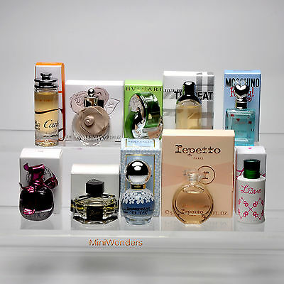 Collection 10 Miniatures Mini Perfumes for Woman New in Box - Lot 7