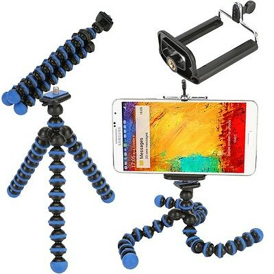 Mini Flexible Octopus Tripod Holder Stand for iPhone 5s 6  Samsung Galaxy S5 S4