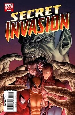 Secret Invasion (2008-2009) #1 of 8 (1:20 Steve McNiven Variant)