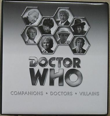 Dr Doctor Who Trilogy Monochrome Trading Card Binder from Strictly Ink