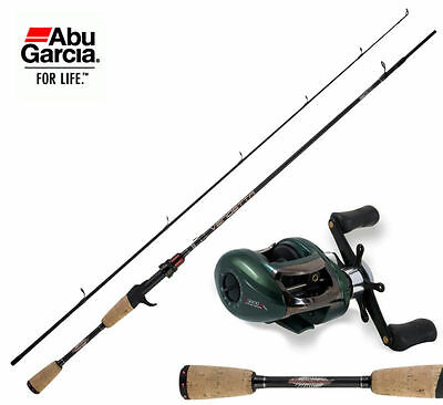 KP1223 Kit Canna Pesca Spinning Casting Abu Garcia Vendetta + Mulinello Bas PPG
