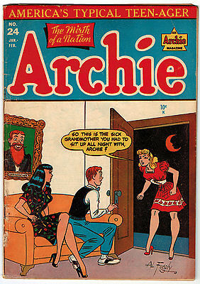 Archie #24 3.0 Off-White Pages Golden Age