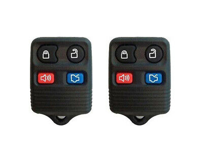 1999-2009 Ford Mustang Replacement Remotes Key Fob Clickers - Pair