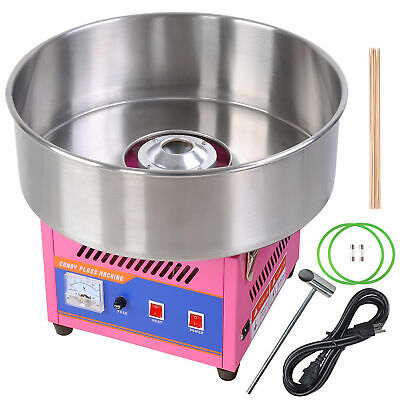 "20"" Electric Cotton Candy Machine DIY Floss Commercial Maker Party Wedding Pink"