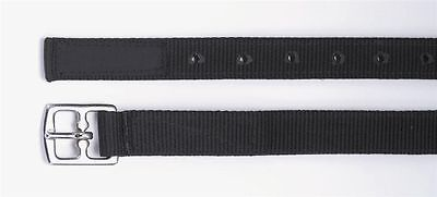"""Shires Hi Lite Synthetic Stirrup Leathers Black Pair size 24"""" 36"""" 48"""" or 56"""""""