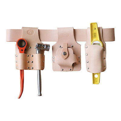 "Scaffolding Tool Belt Set Leather - With Scaffold Tools & XL Belt (45-56"" Waist)"
